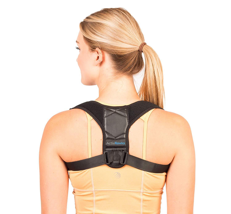 Correcteur de posture dorsale et épaules d'ActivHawks