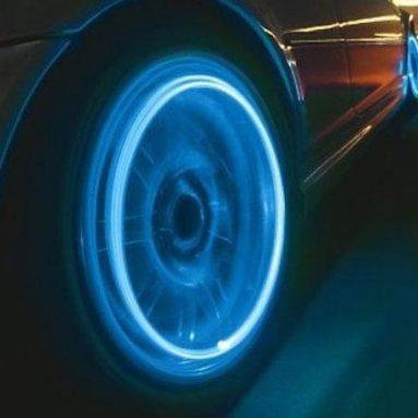 Cache valve de pneu à diodes électroluminescentes