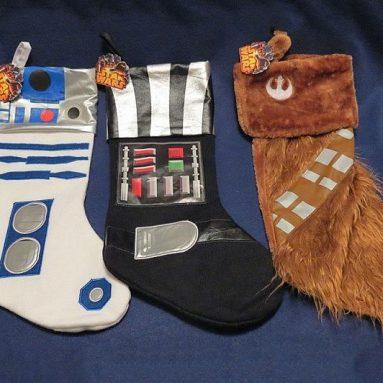 Chaussettes de Noël Star Wars