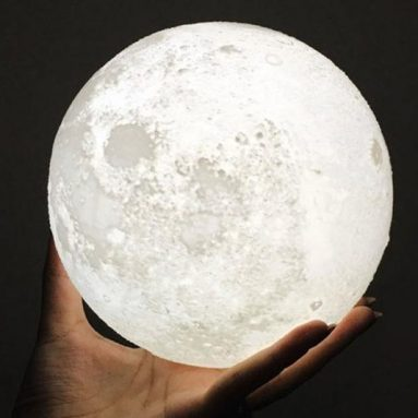 Lampe pleine lune 3D