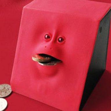 Tirelire Mangeuse de pièces effrayante