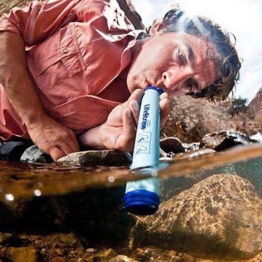 Paille de purification d'eau
