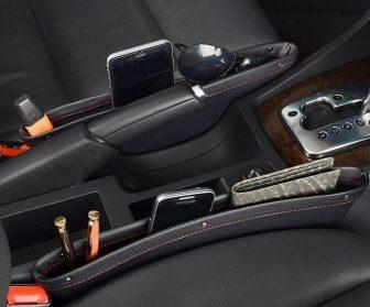 Pochette de rangement entre sièges voiture