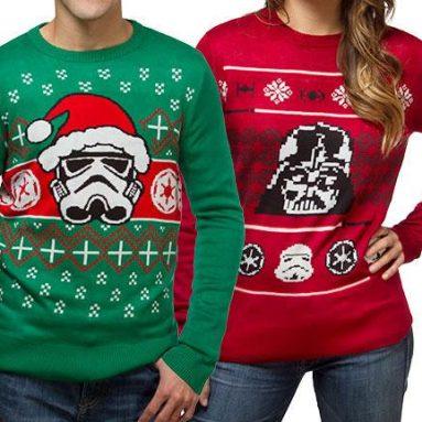 Pull de Noël Moche Star Wars